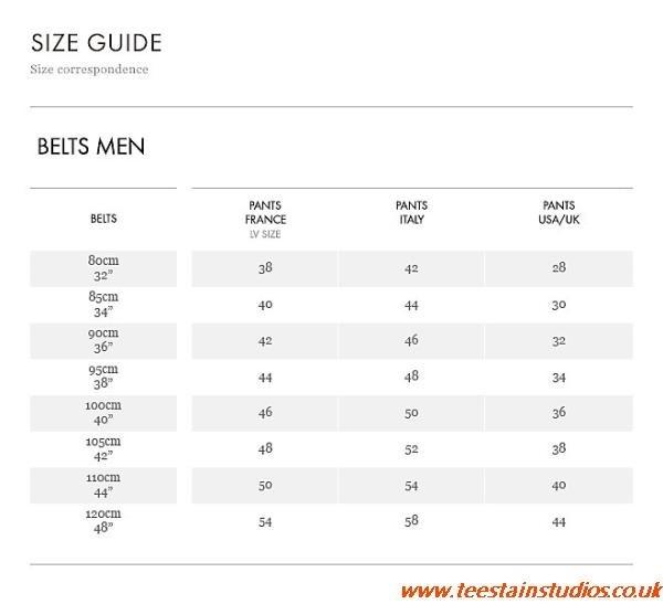 4ae28515c41b Louis Vuitton Mens Belt Size Guide louisvuittonoutletuk.ru