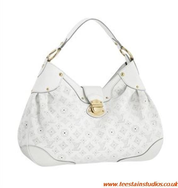 White Lv Purse