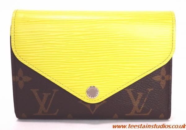 Yellow Louis Vuitton Wallet