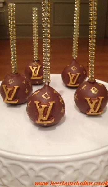 Louis Vuitton Cake Pops