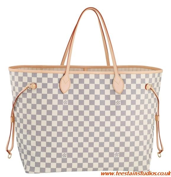 Lv White Bag