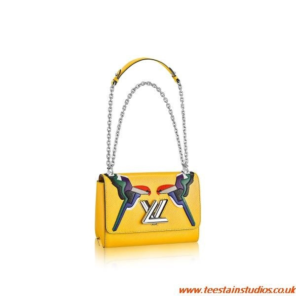 Yellow Louis Vuitton Bag